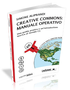 Copertina del libro creative commons: manuale operativo