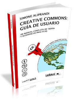 copertina del libro creative commons: guía de usuario