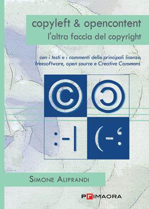 Copertina del libro copyleft & opencontent
