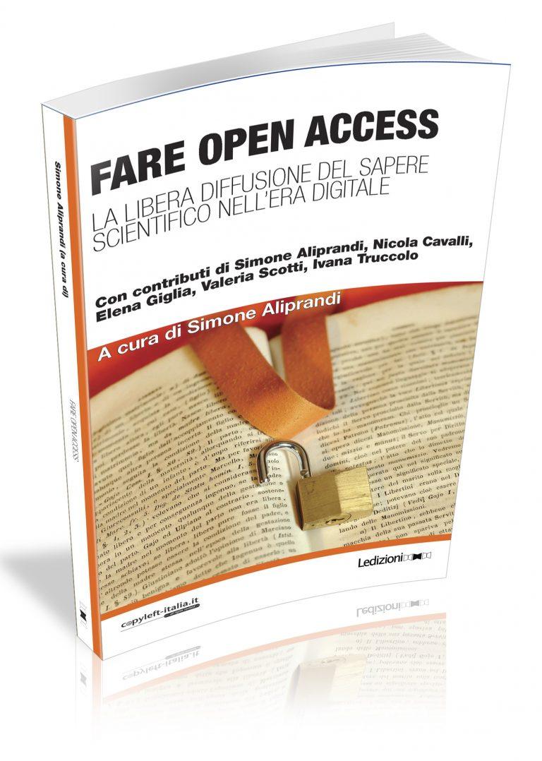 Copertina di Fare Open Access